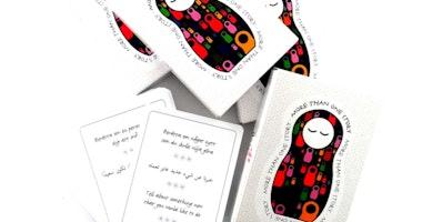 More than one story – kortspel och digital tjänst