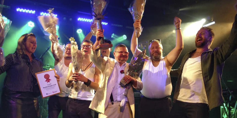 Glada vinnare av Musikschlaget 2018