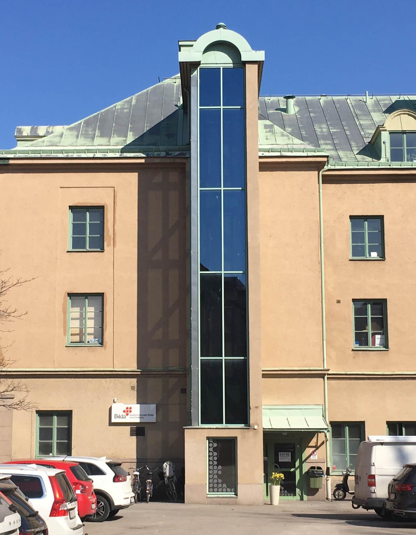 Bilda-kontorets fasad