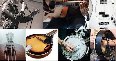 Spela musik med David Rice