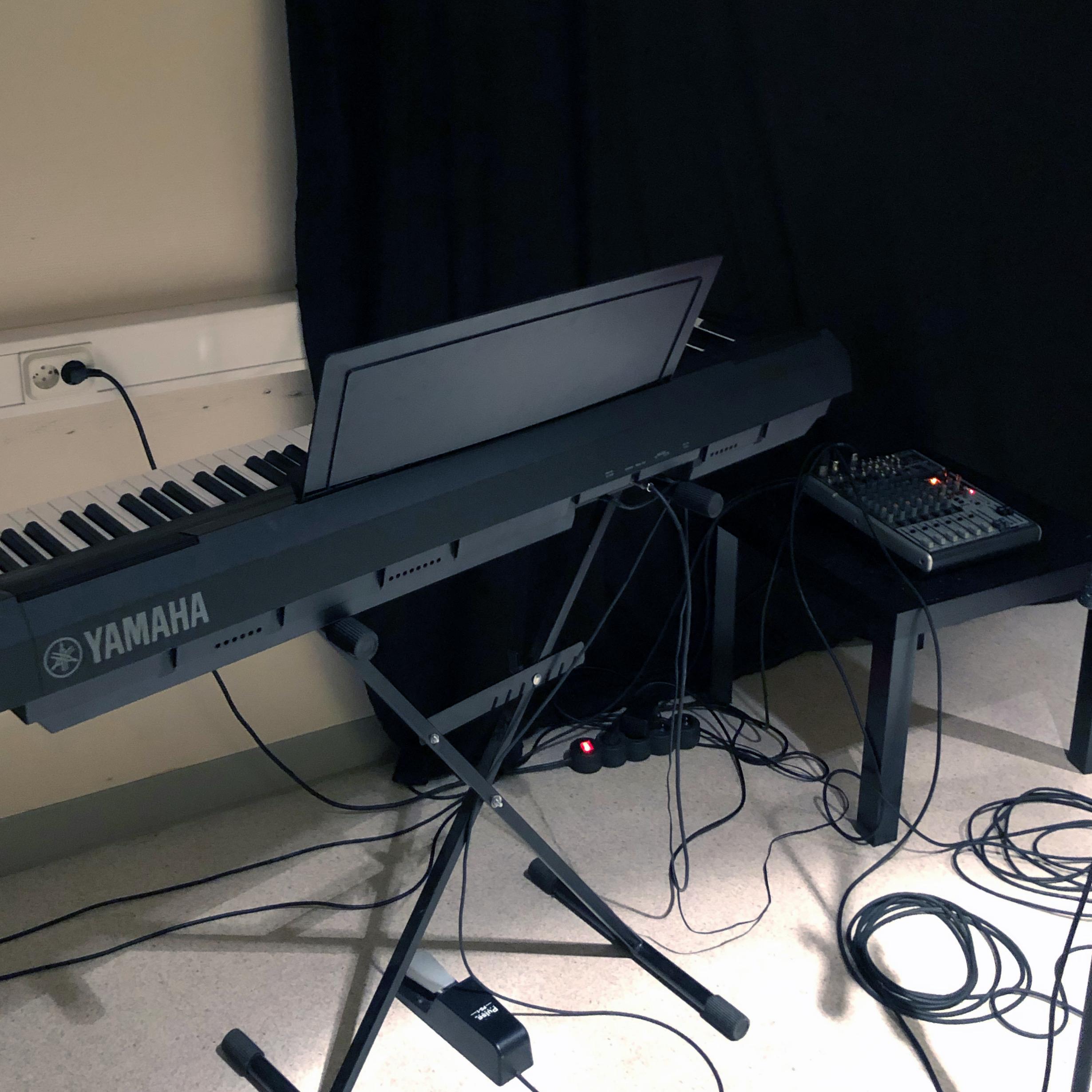keyboard i replokalen