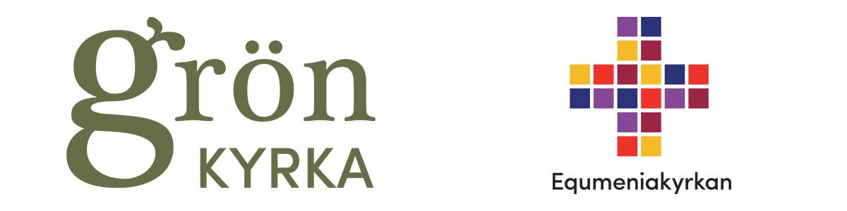 Logotyper för Grön kyrka och Equmeniakyrkan