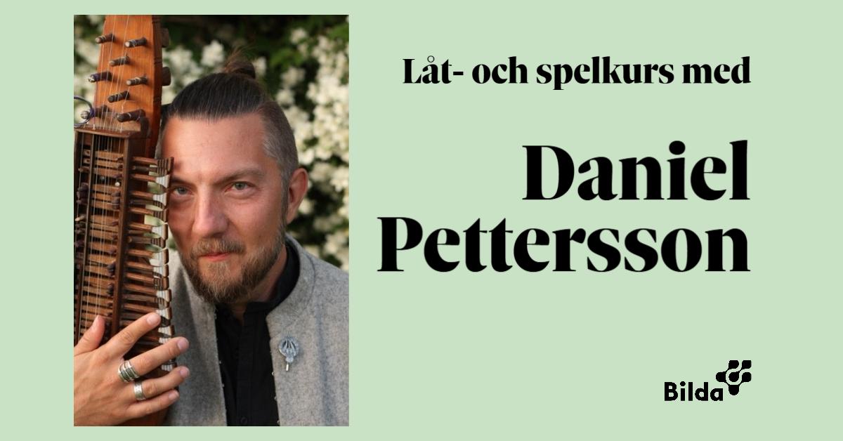 Låt- och spelkurs med Daniel Pettersson