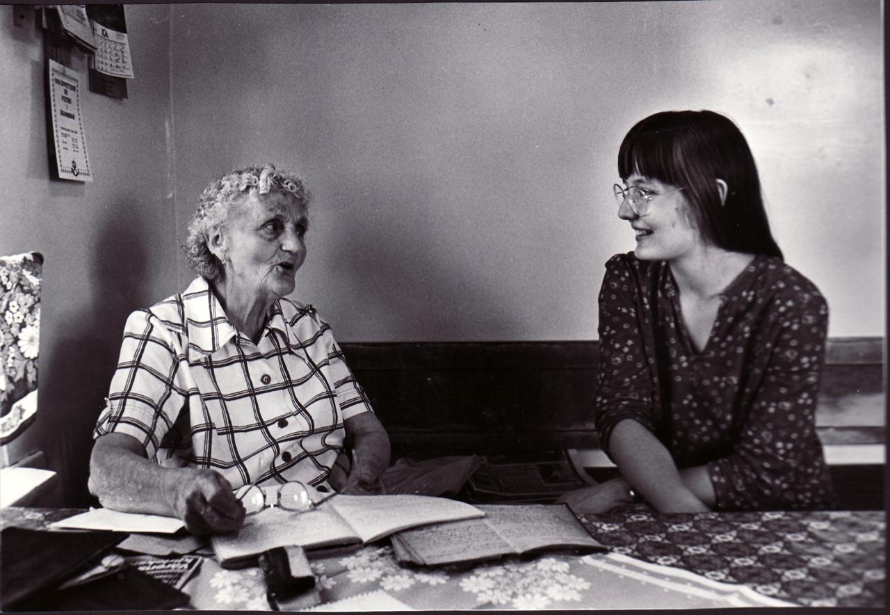 Folkporträtt: Eva Eriksson med Susanne Rosenberg