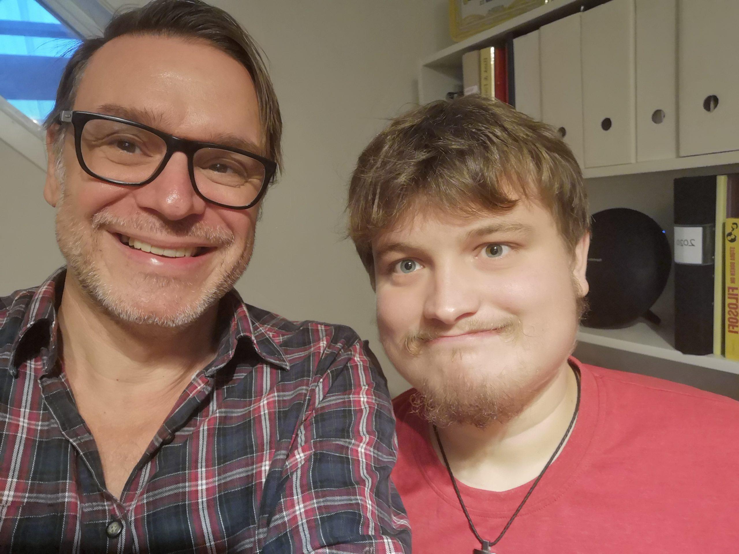 Nikolas Demetriades och Victor Jonson