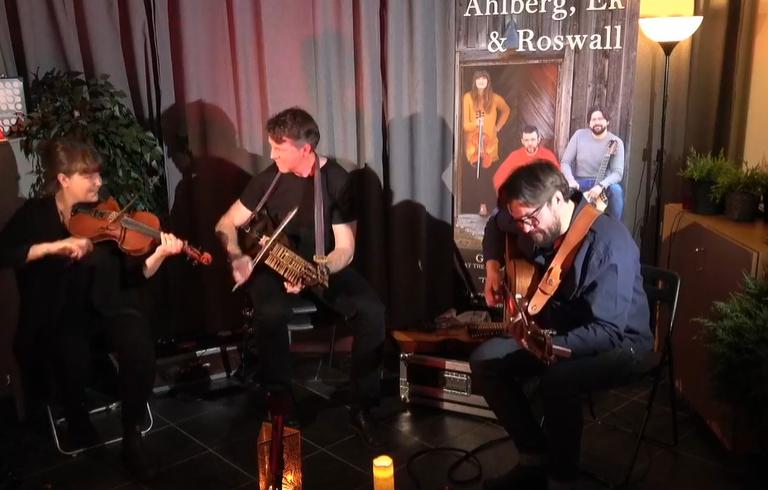 Ahlberg, Ek och Roswall, live från Bildakontoret i Sundsvall