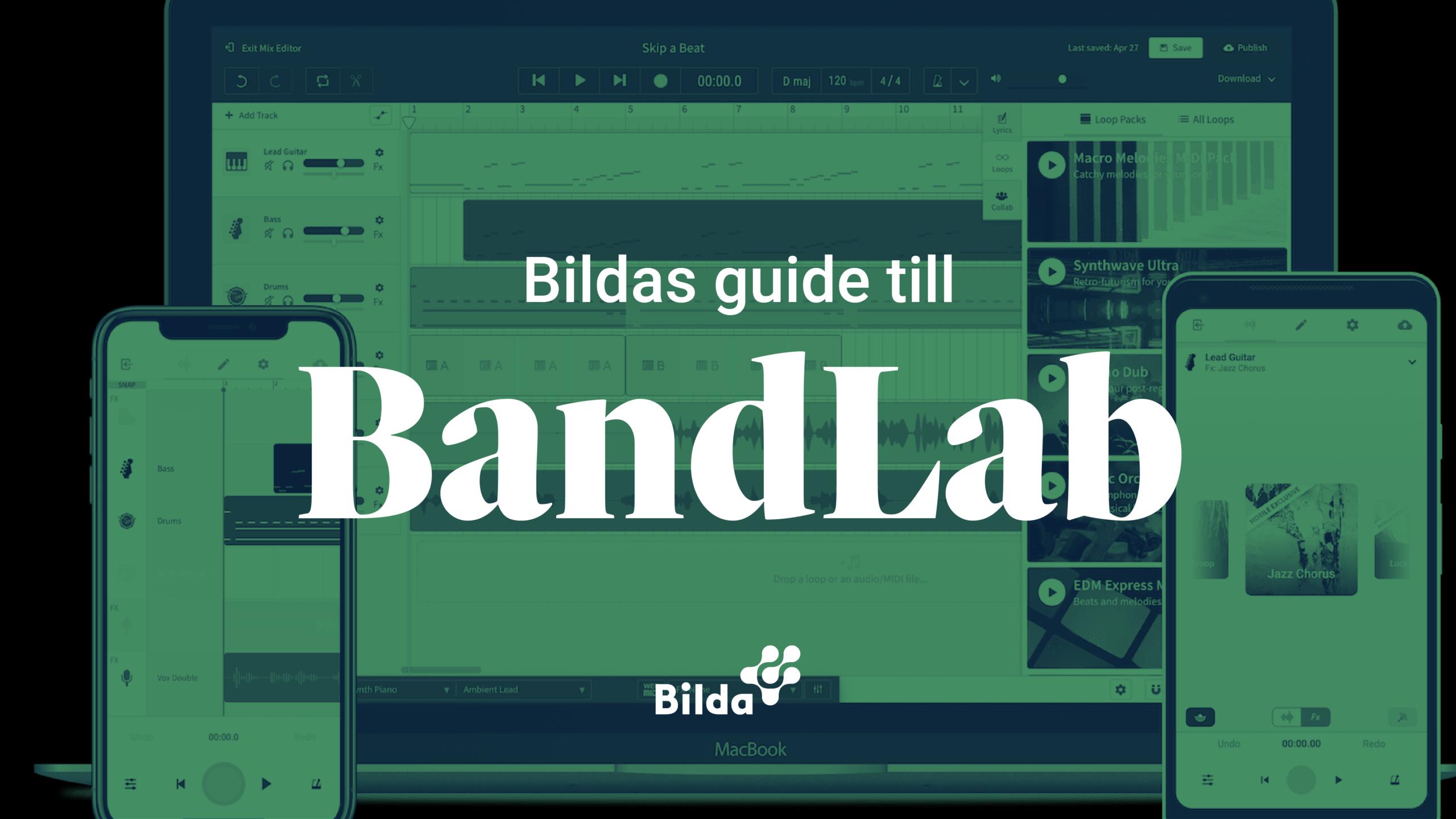 Guide till BandLab
