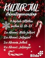 Kulturjul – Måla dina egna julkort!