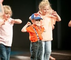 God Moves i Equmeniakyrkan, Alingsås: Busis 4-5 år