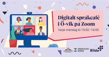 Digitalt språkcafé i Övik!
