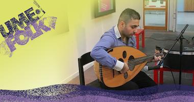 Workshop på Umefolk: Orientalisk musik med Nenos Yousef