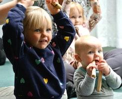 Småbarnsmusik (0-4 år) – Intresseanmälan