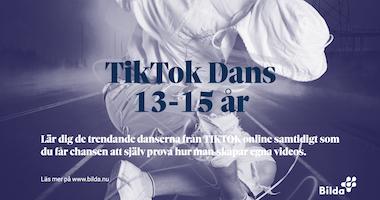 """""""TIK TOK Dans"""" 13-15 år"""