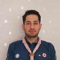 George Chamoun – ungdomsledare i Syrisk-ortodoxa scouterna