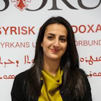Juliana Aktas –  ordförande i Syrisk-ortodoxa Kyrkans Ungdomsförbund