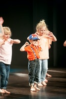 God Moves Dansskola: Busis Tisdag 4-5 år